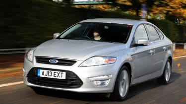 Ford Mondeo front tracking