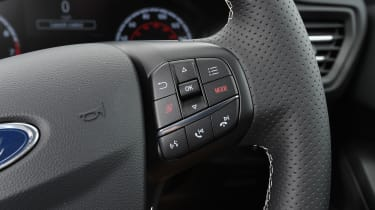 Ford Focus ST - steering wheel