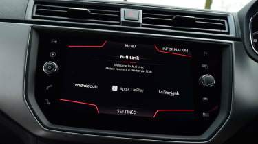 SEAT Ibiza - screen