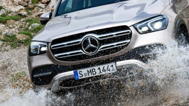 Mercedes GLE - grille