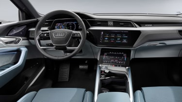 Audi e-tron Sportback - dash