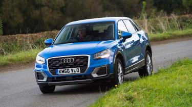 Audi Q2 - blue front action