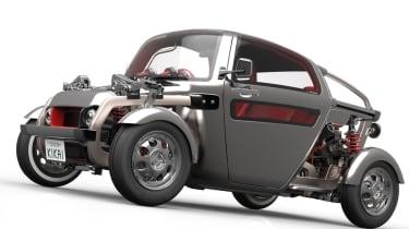 Toyota Kikai concept - front