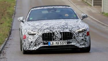 Mercedes SL 2021 - corner
