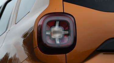 Dacia Duster: long term test review - rearlight