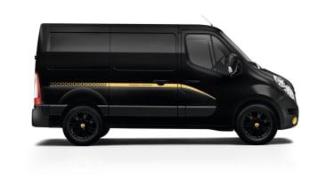 Renault Formula Edition Vans - Master side