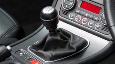Alfa Romeo Spider gearbox detail