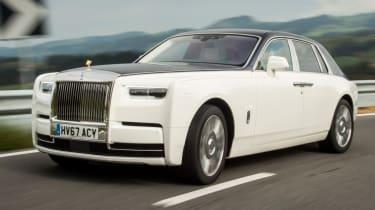 Rolls-Royce Phantom - turn in