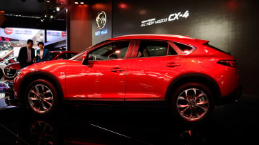 Mazda CX-4 - Beijing Motor Show - side