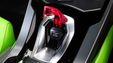 New Lamborghini Huracan starter button