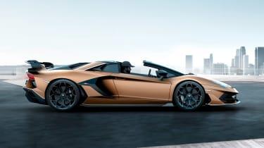Lamborghini Aventador SVJ Roadster - side