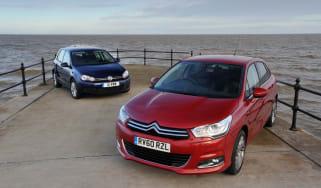 Citroen C4 vs Volkswagen Golf