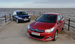 Citroen C4 vs Volkswagen Golf