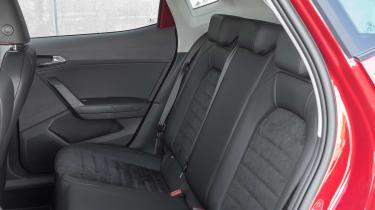 SEAT Ibiza FR 2017 - rear seats