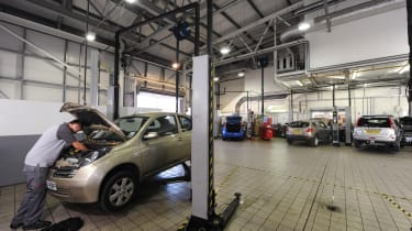 Main dealer servicing