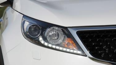 Kia Sportage 2014 light