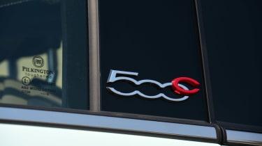 Fiat 500C 2015 badge