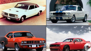 Best muscle cars top 10