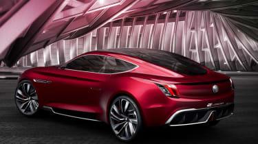 MG E-Motion concept rear