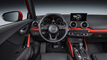 Audi Q2 red cabin