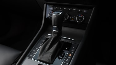 Skoda Superb iV - gear lever
