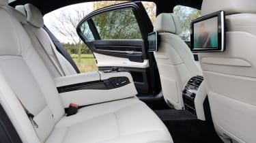 BMW ActiveHybrid 7 rear seats