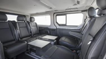 Renault Trafic SpaceClass van - seating layout