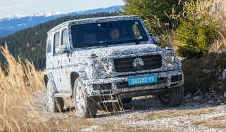 Mercedes G-Class prototype - front