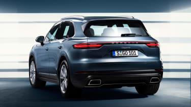 Porsche Cayenne - rear static