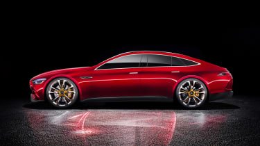 Mercedes-AMG GT Concept - side static