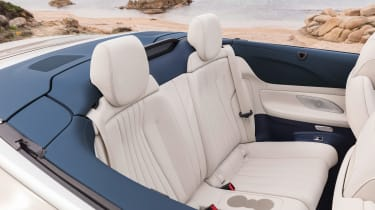 Mercedes E-Class Cabriolet 2017 - AMG Line rear seats