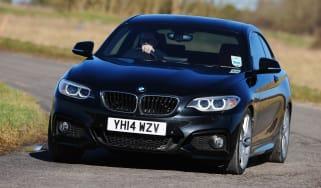 BMW 2 Series M Sport - front cornering