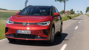 Volkswagen ID.4 GTX tracking