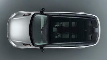 Range Rover Velar - studio overhead