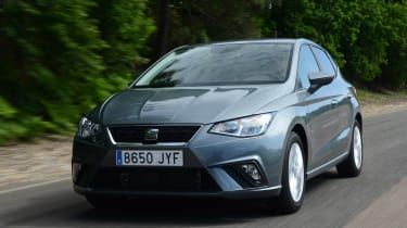 New SEAT Ibiza - front tracking