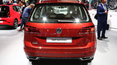 Frankfurt - Golf SV facelift - boot