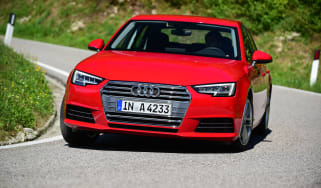 New Audi A4 2016 front