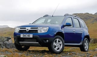 Dacia Duster front static