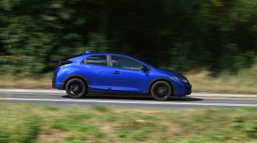 Honda Civic Sport 1.4 - side