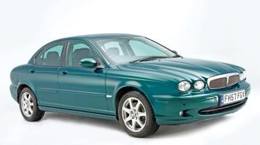 Jaguar X-Type front