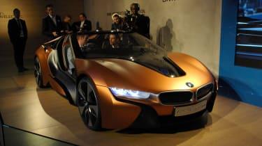 BMW I8 spyder concept CES