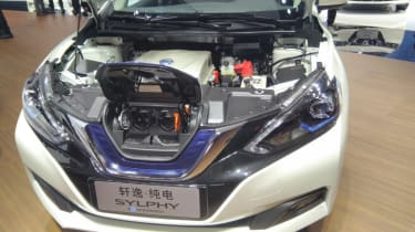 New Nissan Sylphy - engine