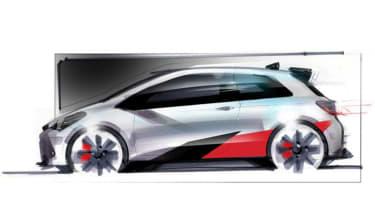 Toyota Yaris hot hatch teaser