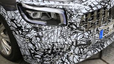 Mercedes-AMG GLB 45 - spied headlight