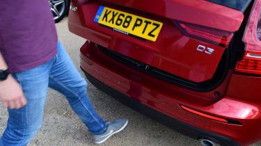 Volvo V60 - long termer final report boot opening