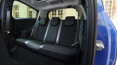 Renault Clio old vs new - Mk3 rear seats