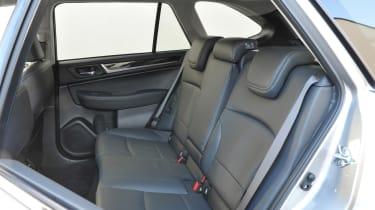 New Subaru Outback 2015 rear seats