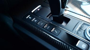 Maserati Ghibli facelift - sports exhaust button