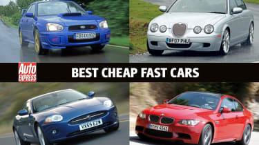 Best cheap fast cars