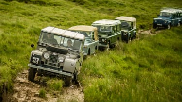 Land Rover Defender Islay off-road